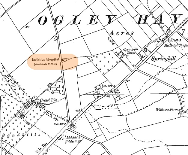 1900-1901 Ordnance survey map extract