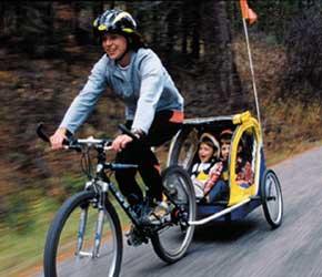 Tsiklile järelkäru! Bike-trailer