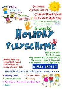 August 2013 - Play Scheme