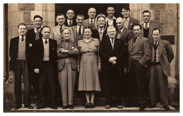 William Briggs Jr - Middle row third from right