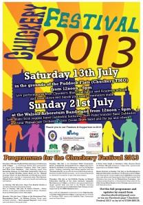 Chuckery Festival 2013 - Poster Medium