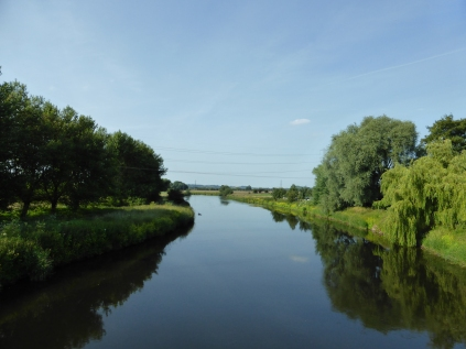 A millpond-still Trent, at Walton