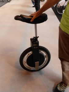 This is a £1,500 electric, self balancing unicycle - the solution to a problem nobody has.