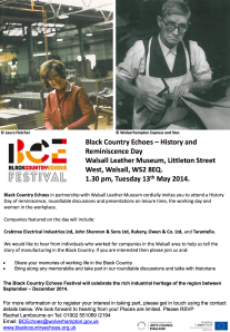 Walsall History Day