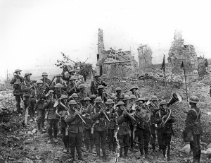 WLHC6060 Band of the 5th Batt South Staffords at Ypres WW1