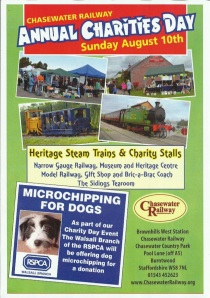 chasewater railway event poster