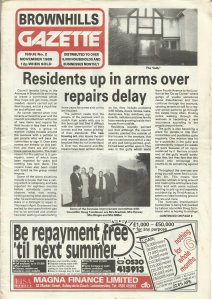 Brownhills Gazette November 1989 issue 2_000001