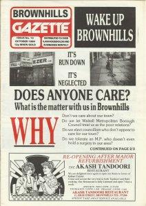 Brownhills Gazette October 1990 issue 13_000001