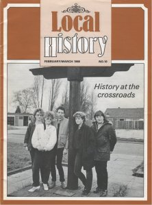 The book even made Local History magazine! Image kindly supplied by Mark Staples.