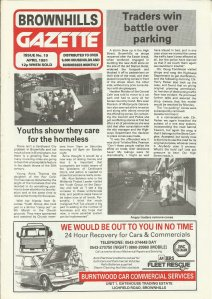 Brownhills Gazette April 1991 issue 19_000001