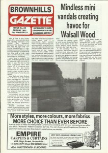 Brownhills Gazette August 1991 issue 23_000001