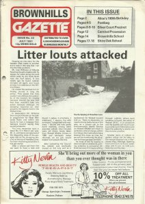 Brownhills Gazette July 1991 issue 22_000001