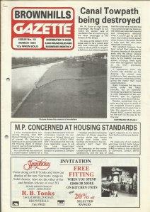 Brownhills Gazette March 1991 issue 18_000001