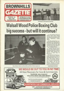 Brownhills Gazette May 1991 issue 20_000001
