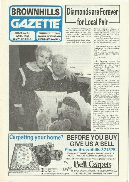 Brownhills Gazette April 1992 issue 31_000001