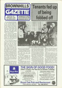 Brownhills Gazette February 1992 issue 29_000001