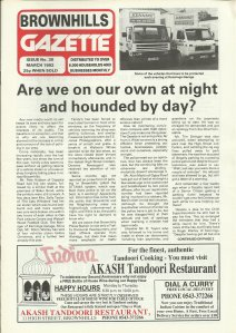 Brownhills Gazette March 1992 issue 30_000001