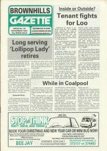 Brownhills Gazette November 1991 issue 26_000001