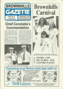 Brownhills Gazette July 1992 issue 34_000001