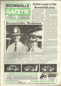 Brownhills Gazette September 1992 issue 36_000001