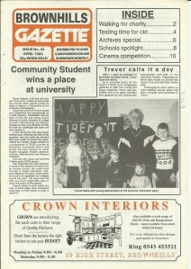 Brownhills Gazette April 1993 issue 43_000001