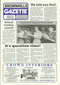 Brownhills Gazette August 1993 issue 47_000001