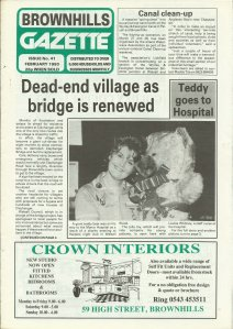 Brownhills Gazette February 1993 issue 41_000001