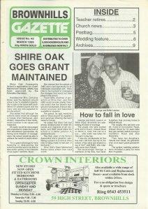 Brownhills Gazette March 1993 issue 42_000001