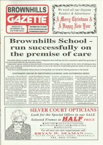 Brownhills Gazette December 1993 issue 51_000001