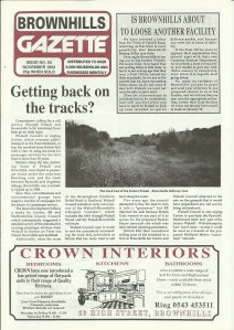 Brownhills Gazette November 1993 issue 50_000001