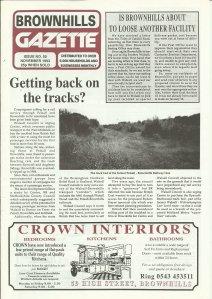 Brownhills Gazette November 1993 issue 50_000001