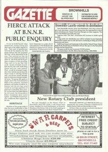 Brownhills Gazette August 1994 issue 59_000001