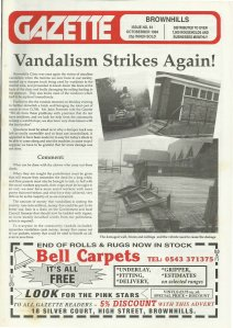Brownhills Gazette October 1994 issue 61_000001