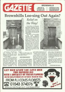 Brownhills Gazette February 1995 issue 65_000001