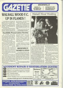 Brownhills Gazette September 1995 issue 72_000001