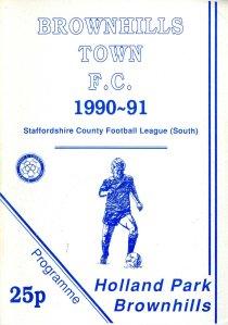 Brownhills Town 1990-91_000001