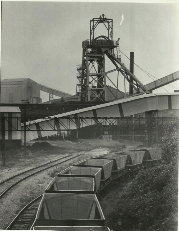 Littleton Colliery black and white Reg