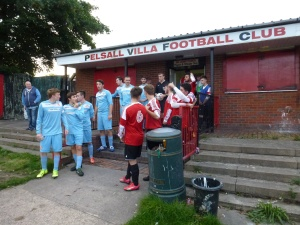 Walsall Wood played in sky blue strip