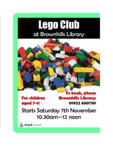 Lego Club Poster