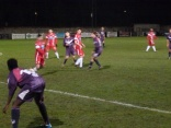 Loughborough, release their superfast winger, as an attacking move erupts. Second half spectacular.