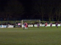 Loughborough pile on the pressure to break the impasse, but to no avail, as the air temperature drops well below zero.