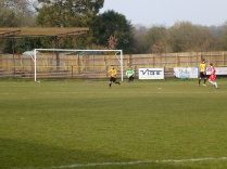 An early foray by the Wood causes vocal consternation among Alvechurch defenders