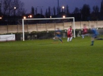 First goal, to Rocester. A well-worked goal.