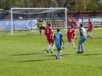 Long Eaton turn up the pressure on the Wood's goal