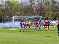 Long Eaton tried valiantly right up the final whistle to score their second goal, but to no avail. Today belonged to the Wood.