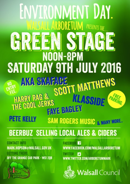 Green Stage Poster 2016