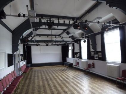 A totally transformed and refurbished Arts venue, now officially named 'The Lamp', in deference to the statue of the Miner nearby.