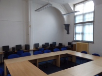 The activity centre's fully equipped computer room