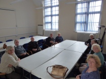 Holland Park Photography group, just before their meeting started.