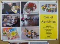 Selection from the very busy noticeboard!